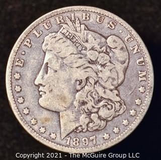 Numismatic: Morgan Silver Dollar 1897-O