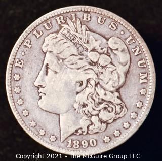Numismatic: Morgan Silver Dollar 1890-O
