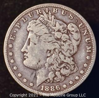 Numismatic: Morgan Silver Dollar 1886-O