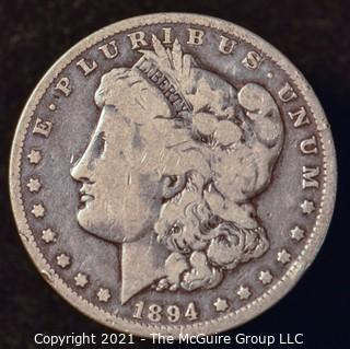 Numismatic: Morgan Silver Dollar 1894-O