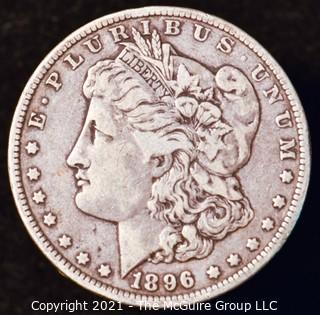 Numismatic: Morgan Silver Dollar 1896-O