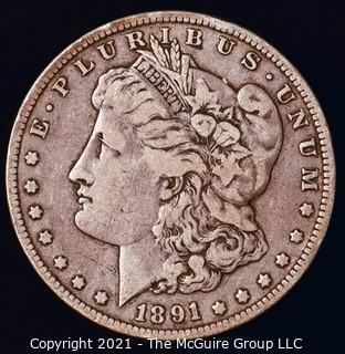 Numismatic: Morgan Silver Dollar 1891-O