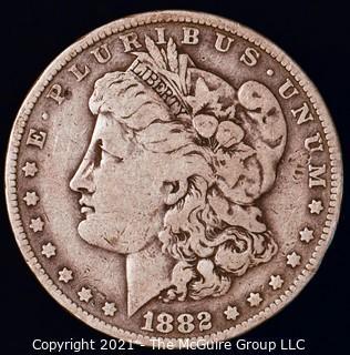 Numismatic: Morgan Silver Dollar 1882-O
