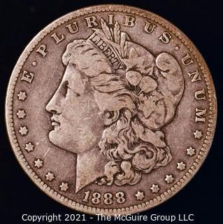 Numismatic: Morgan Silver Dollar 1888-O