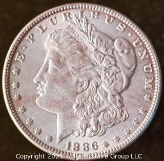 Numismatic: Morgan Silver Dollar 1886
