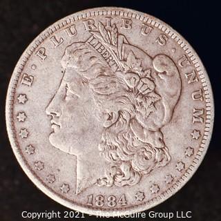 Numismatic: Morgan Silver Dollar 1884-O