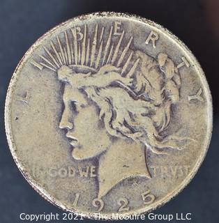"Numismatic: ""Peace"" Silver Dollar 1925"