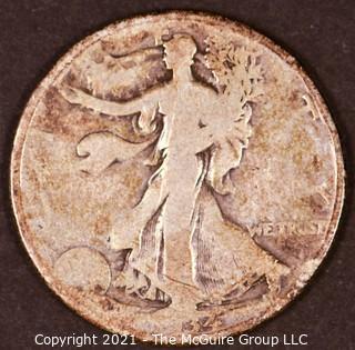 "Numismatic: Silver ""Walking Liberty"" Half-Dollar  - 1934-D"