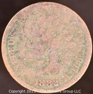Numismatic:  Indian Head Cent: 1882