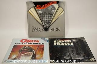 Collectible: Laser Disc Movies: (3) titles (incl ORCA)