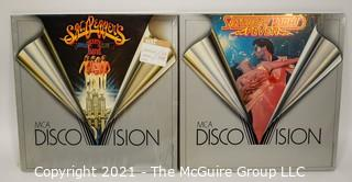 Collectible: Laser Disc Movies: (2) titles (incl Saturday Night Fever)