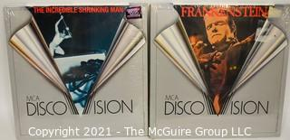 Collectible: Laser Disc Movies: (3) titles (incl Frankenstein)
