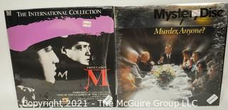Collectible: Laser Disc Movies: (2) titles (incl Mystery themes)