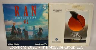 Collectible: Laser Disc Movies: (2) titles (incl RAN & Empire of the Sun)