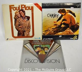 Collectible: Laser Disc: (3) Movie Titles (incl Rooster Cogburn)