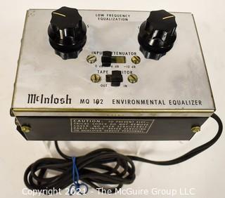 Electronics: Vintage: Stereo Component: McIntosh MQ-102 Environmental Equalizer