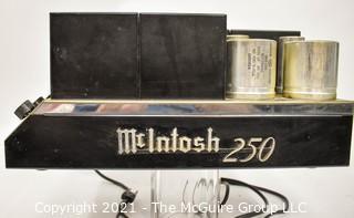 Electronics: Vintage: Stereo Component: McIntosh 250 Dual 50 Watt Stereo Amplifier w/Paperwork (heavy)