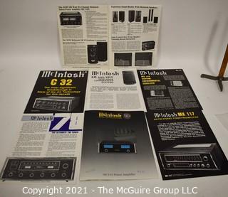 Electronics: Vintage: Ephemera: Product Flyers