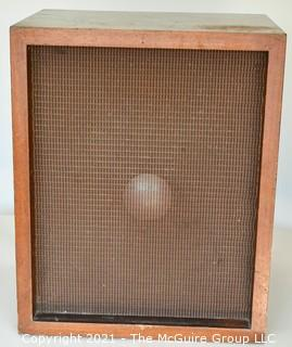 "Electronics: Vintage: Speaker: Pre-JBL - Jim Lansing Model L  D-130 16 Ohms 15"" Woofer in Wood Case; w/ Metal Protective Screen"