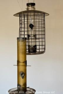 """Two (2) Large Hanging Bird Feeders.  30""""T"""