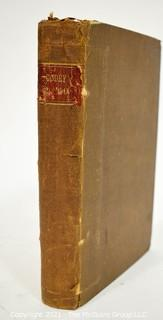 Hard Cover Edtion of Godley's Lady's Book and Magazine, Philadelphia, P.A, 1860.