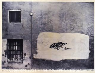"""Signed and dated photo """"Windows, Spain"""" by Carlos Tabernero 1998; 11 x 14"""""""