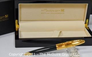 The Metropolitan Museum Of Art Egyptian Hieroglyphics Ball Point Pen Made by Waterman; New in Original Box.