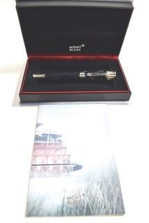 Mont Blanc Writers Edition Mark Twain Fountain Pen #105634; New in Original Box.