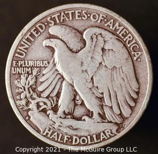 Coins: Silver: Walking Liberty Half Dollar: 1941-S