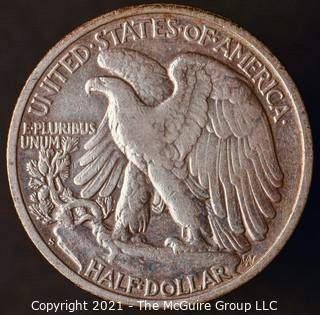 Coins: Silver: Walking Liberty Half Dollar: 1942-S
