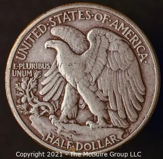 Coins: Silver: Walking Liberty Half Dollar: 1944-P