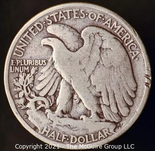 Coins: Silver: Walking Liberty Half Dollar: 1944-D