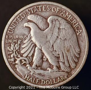 Coins: Silver: Walking Liberty Half Dollar: 1945-S