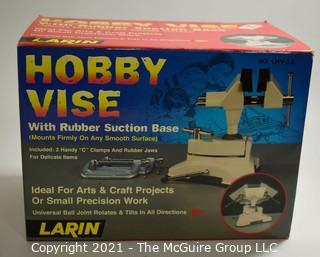 Hobby Vise with Rubber Suction Base, New in Original Box.