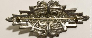 Group of Four (4) Vintage and Antique Rhinestone Brooches and Belt Buckles.