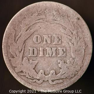 Coins: Silver Barber Dime: 1903-P