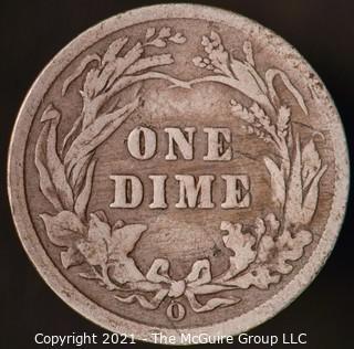 Coins: Silver Barber Dime: 1903-O