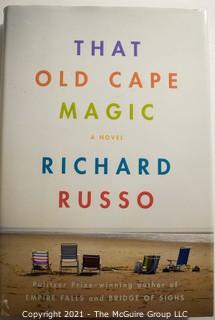 The Old Cape Magic by Richard Russo, Signed by Author.