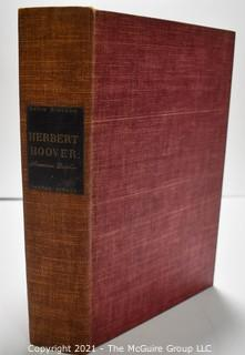 """Signed First Edition (575/1500) """"Herbert Hoover"""" by David Hireshaw"""