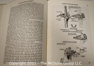 Book: Plank-on-Frame Models and Scale Masting and Rigging Vol. 1 & 2 Harold A. Underhill