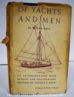 """Book: """"Of Yachts and Men"""" by William Atkin Plus Assorted Personal Documents"""