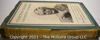 "Book: ""Clinton Crane's Yachting Memories"" by Clinton Crane 1952 1st HC w/DJ"