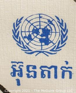 "United Nations Voting Poster showing Registration Program 12"" x 22"""