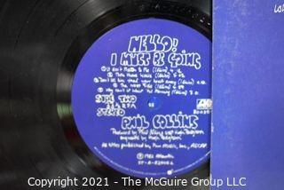 (3) Vinyl LP Records Classic Rock Titles including John Cougar, Rick Springfield and Phil Collins