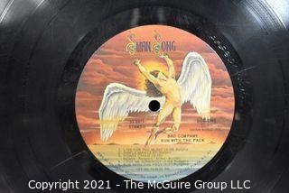 (2) Vinyl LP Records Classic Rock Titles by Bad Company