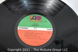 (4) Vinyl LP Records Rock Titles by AC/DC