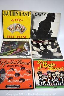 (6) Vinyl LP Records Rock Titles by J. Geils Band
