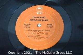 (4) Vinyl LP Records Rock Titles by Ted Nugent