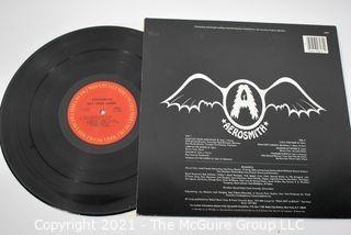 (3) Vinyl LP Records Classic Rock Titles including Aerosmith, Whitesnake and Blackfoot