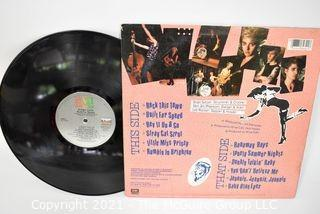 (4) Vinyl LP Records Rock Titles by RUSH, Stray Cats, 38 Special and Styx